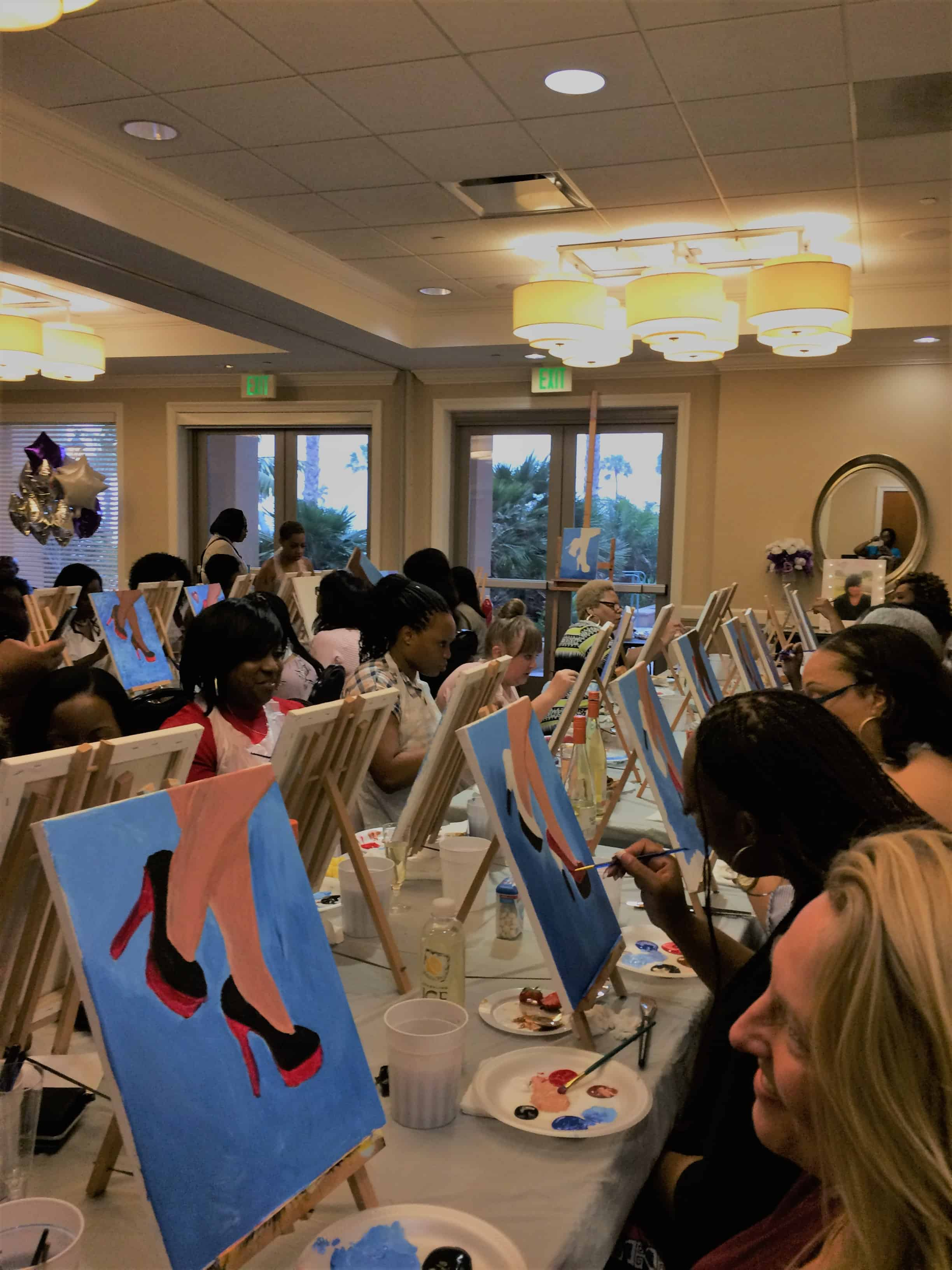 Sonya's 50th Birthday paint party