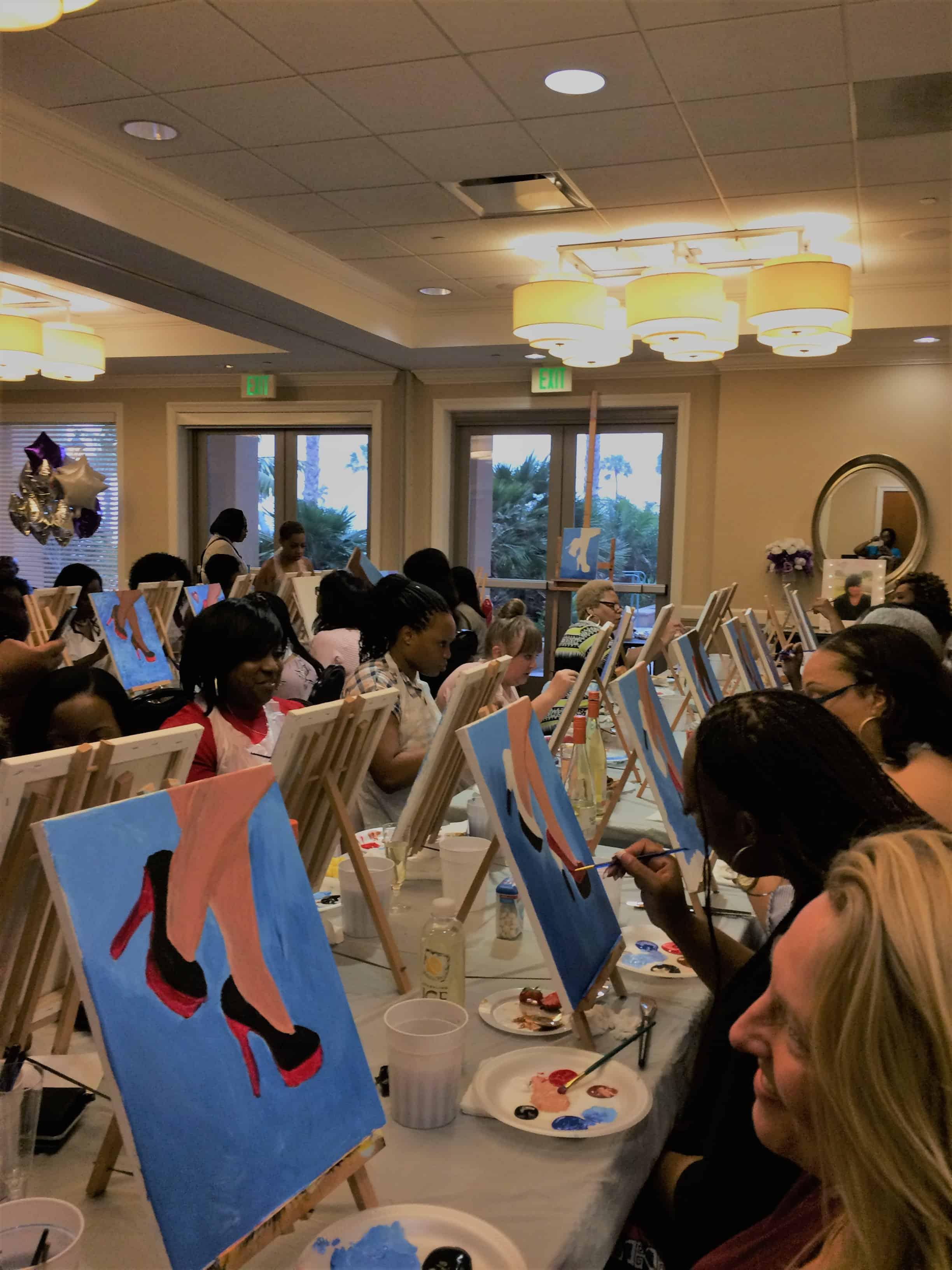 Sonya's 50th Birthday paint party