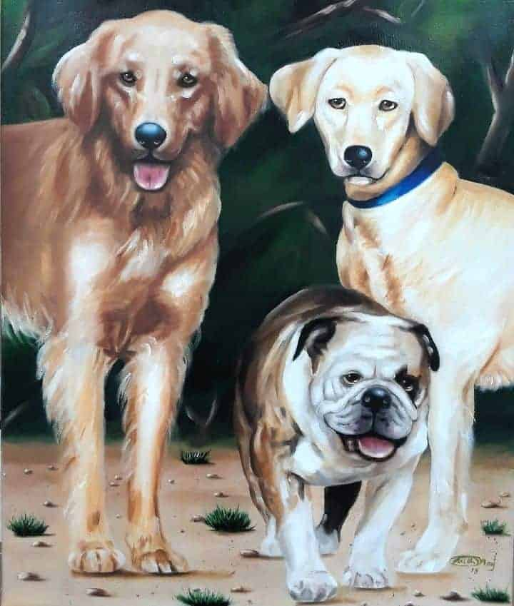 The 3 Pets - comission final