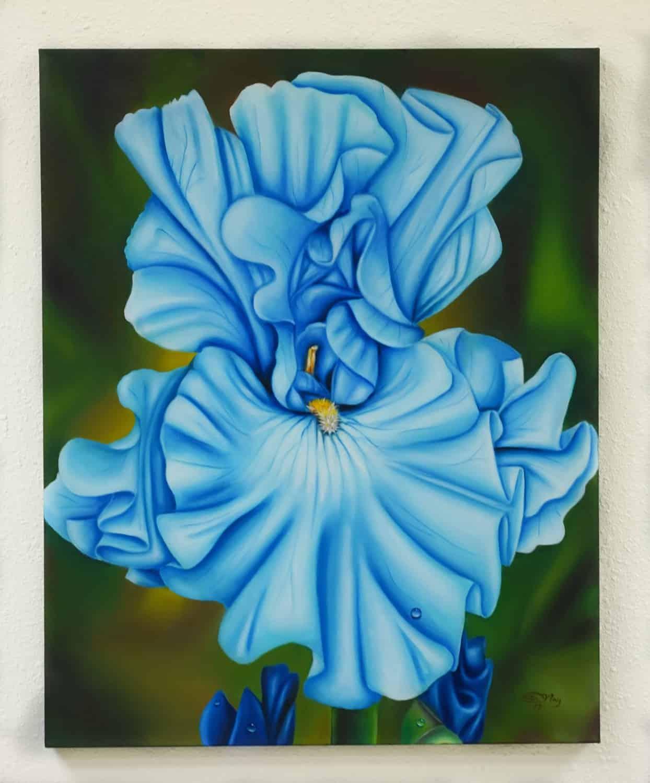 The Blue Iris