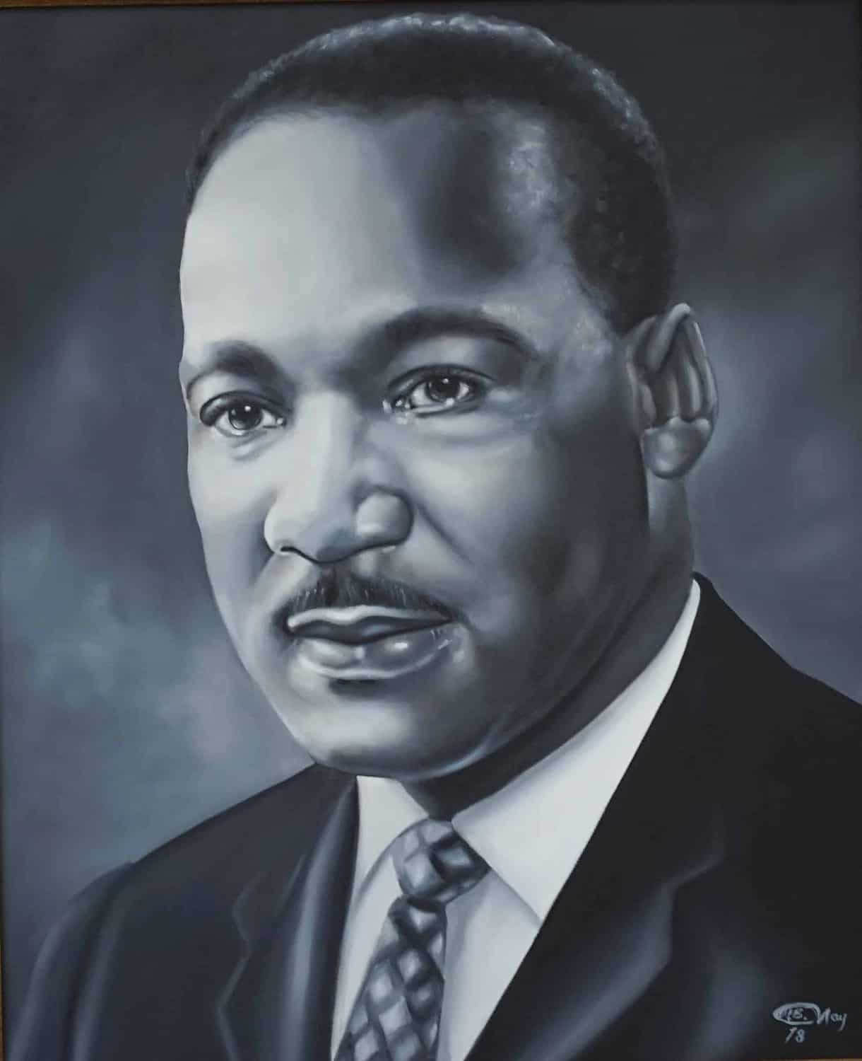 Martin Luther King Jr - Oil on Canvas 20X24 - Community