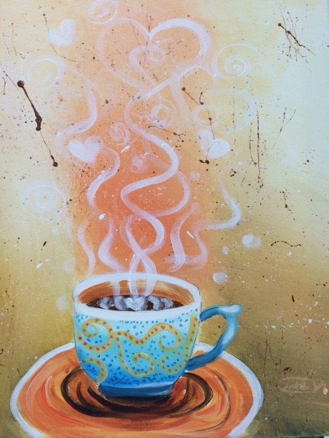 Sip N Paint Saturday Morning Coffee and Tea